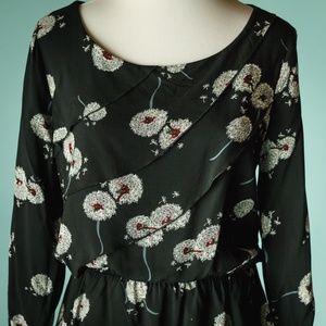 Anthropologie Tops - Anthro Deletta S Dandelion Wished Bloom Top